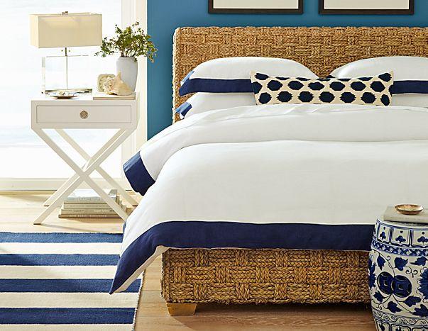 Coastal Chic Bedrooms Seasons Blog